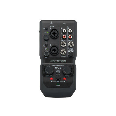 ZOOM U-24 2-in/4-out Handy Audio Interface