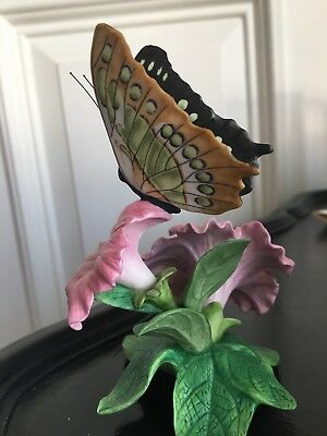 Lenox Malachite Butterfly And Flower