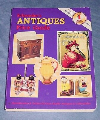 SCHROEDER'S ANTIQUES PRICE GUIDE ~ 1992 Tenth Edition ~ Very Good Condition!