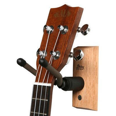 STRINGSWING CC01UK/Oak Wall ukulele/mandolin hanger (oak)
