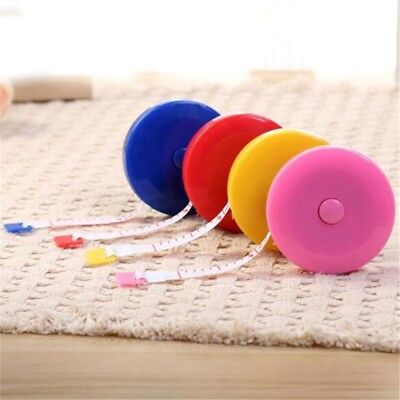 Retractable Ruler Tape Measure Sewing Cloth Dieting Tailor 150cm 60inch