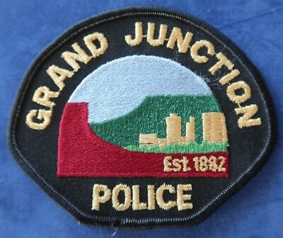 NEW - Grand Junction, Colorado Police Department Shoulder Patch