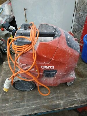 Hilti vc 20 Dust Extraction