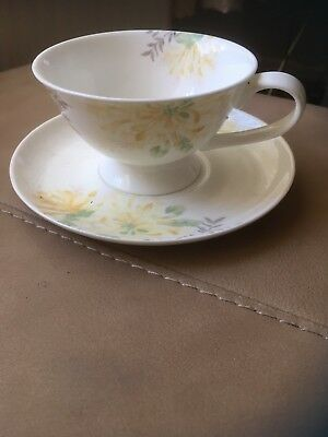 Laura Ashley Breakfast Cup And Saucer