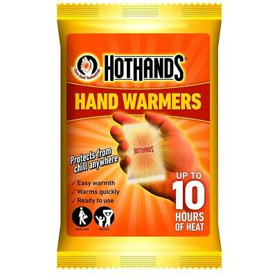 HOTHANDS Hand Warmers - up to 10 Hours of Heat - 5 packs of 2 handwarmers