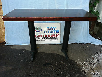 Rectangular Wooden Restaurant Tables - NO SHIPPING