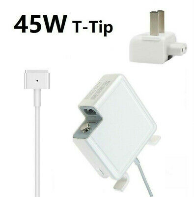 45W MagSafe2 AC Power Supply Charger for Macbook Air 13 A1466 A1465 USA shipping