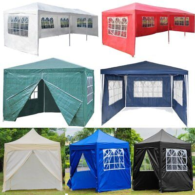 Garden Camping Gazebo Tent Canopy Waterproof Party Tent Easy Set  Various Tent