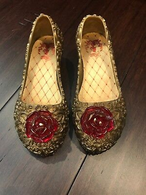 DISNEY STORE Belle Beauty And The Beast Costume Shoes 9/10