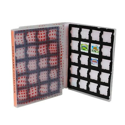 Nintendo DS/3DS Cartridge Game Case, Holds 20 DS or 3DS Cartridges