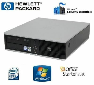 PC HP SFF DC7900 Core 2 Duo E8400 2 GO HDD 160 GO GRAVEUR DVD WINDOWS 7 PRO