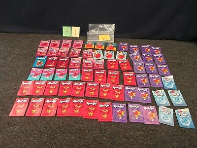 55 Vintage Kool Aid Packets Opened Soft Drink Mix Points