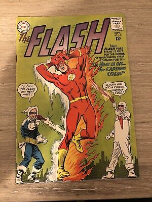 Flash (1959) #140 Origin & 1st App Heat Wave Captain Cold Infantino VG/F F-?