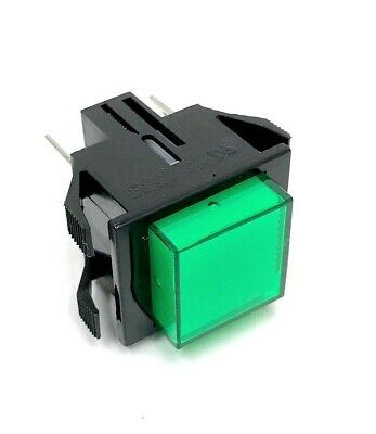 Challenge Switch, Push Button ( Green ) Nos, Oem P/n: E-1045-4