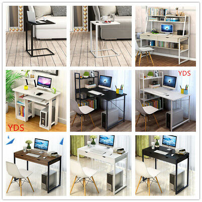 Multifunction Wooden  Computer Desk PC Study Writing Table Office Home Business