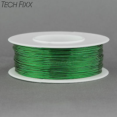 Magnet Wire 23 Gauge Enameled Copper 185 Feet Coil Winding and Crafts Green