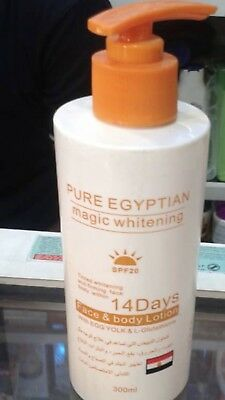 Pure Egyptian Magic Whitening Face and Body Lotion