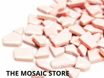 Pink Ceramic Puzzle Pieces - Mosaic Supplies & Tiles