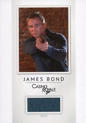 James Bond Classics 2016, Daniel Craig 'James Bond' Relic Card PR12 006/200
