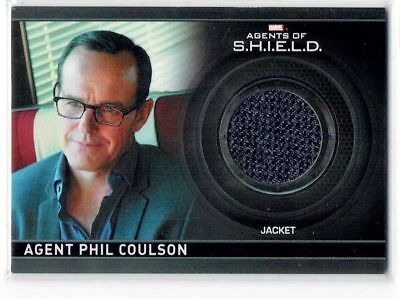Marvel Agents of Shield CC1 Phil Coulson Wardrobe Costume Relic Card 325/350