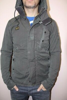 G STAR RAW Recolite Storm Hooded jacket L, battle gray