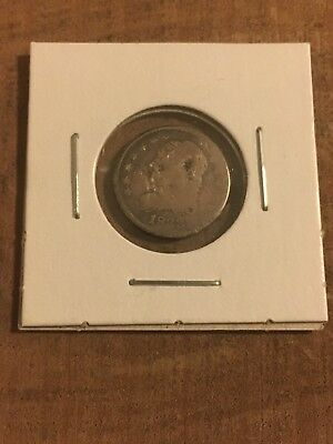 1833 Capped Bust Half Dime-Circulated, Early Type Silver Coin