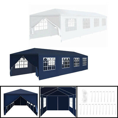 Garden Marquee 3x12m Outdoor Patio Pavilion Party Tent Canopy For Wedding Party