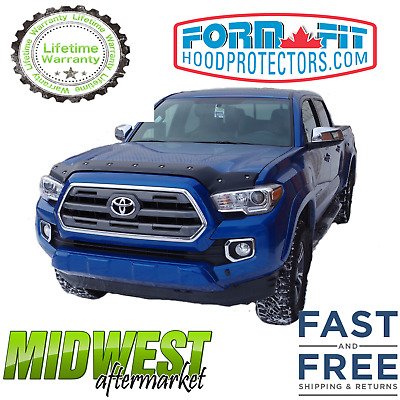 2016 /& Up Toyota Tacoma FormFit Tough Guard Smooth Hood Protector TS-20E16