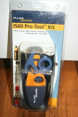 NEW In Package Fluke Networks 11293000 Pro-Tool Kit IS60 with Punch Down Tool
