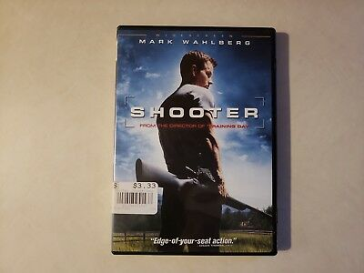 Shooter (DVD, 2007, Widescreen) Movie is used but in good condition.