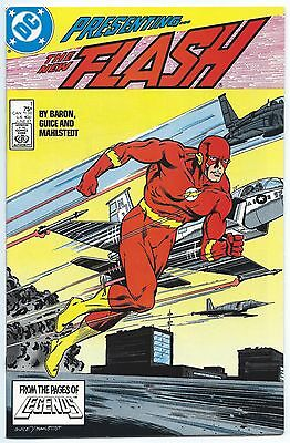 FLASH #1 June 1987 DC Comics NM/MT 9.8 W TEEN TITANS App WALLY WEST's 20th BD!