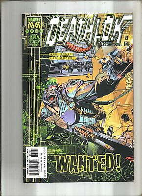 Deathlok  Volume Ii #2  Cover A  Nick Fury  M Tech  Marvel  1999  Nice!!!