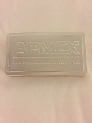 APMEX 10 oz .999 Silver Bar (Stackable)