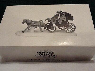 Dept 56 Christmas In The City - Central Park Carriage - #59790 - Mint in Box