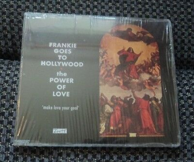 RARE Frankie Goes To Hollywood Power Of Love CD Single 2008 Holly Johnson 2 Vers
