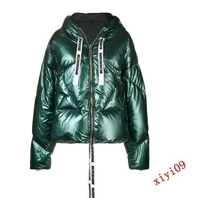 Womens Shiny Windproof Duck Down Coat Parka Winter Thicken Jackets Overcoat new