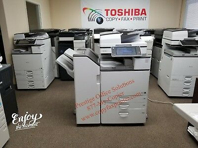 Ricoh Aficio MP C4503 Color Copier. Meter under 10k