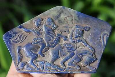 Alexander the Great fighting king Darius III, 250BC–10AD, Graeco-Bactrian