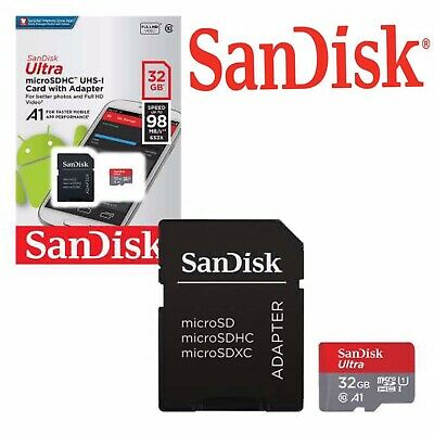 SanDisk 32gb Extreme Pro Micro SD SDHC Card A1 100mb/s Class 10