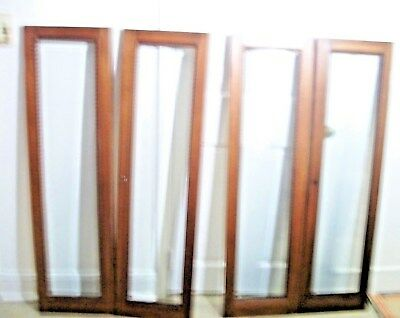 4/$300.00-- Antique Doors With Wide Beveled Glass-Excellent Cond.