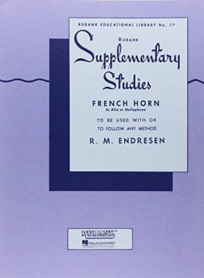 Supplementary Studies - French Horn In F Or E-Flat And Mellophone **brand New**