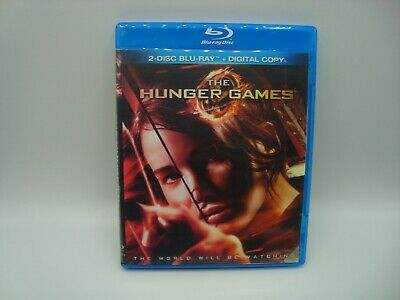 The Hunger Games (Blu-ray Disc, 2012, 2-Disc Set) NO CODE