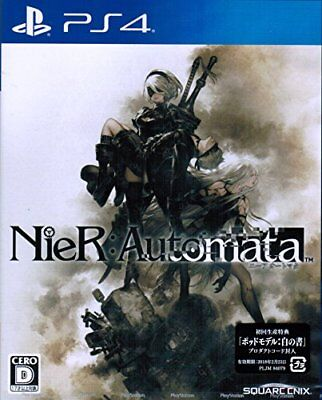 PS4 Nier automata (first production benefits: product code include... From Japan