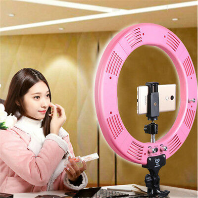 "16"" Ring Light LED With Stand Photography Selfie Light Photo Video Camera Lamp"