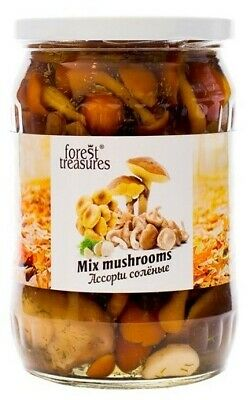 Mixed Forest Mushrooms Salted, Poland 530g