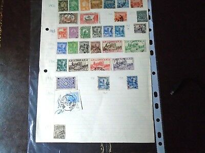 Tunisia Stamp Collection 1899-1950