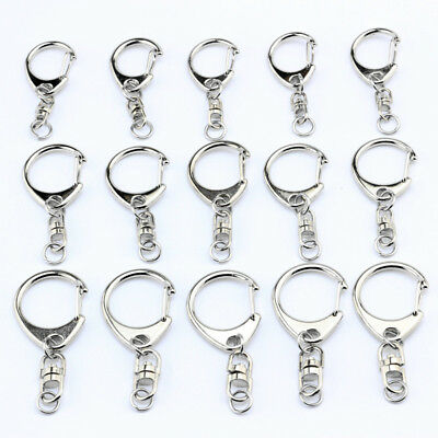 Lobster Clasps 360 degree Swivel Trigger Clips Snap Hooks Bag Key Ring 5-1000PCS