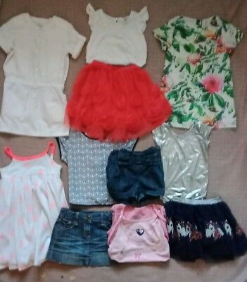 Girls Clothes Size 4 Bulk Pack With 10 Items Inc Witchery Kids
