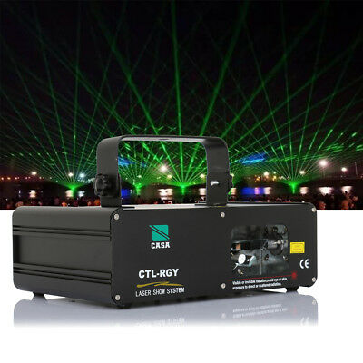 3Color RGY DMX DJ Laser Bühne Licht Bar Party DMX512 Disco DJ Beleuchtung Party