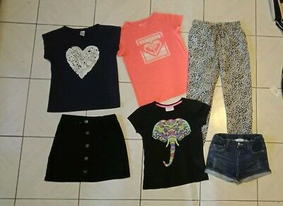 Girls Clothes Size 10 Bulk Pack With 6 Items Inc Roxy
